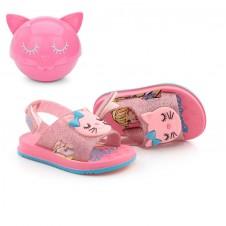 Imagem - Sandália Baby Barbie Fashion Cat + Brinde cód: 0000279019116
