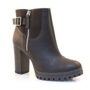 Ankle Boots De Salto Bloco Dakota