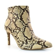 Imagem - Ankle Boots De Cobra E Salto Alto Vizzano cód: 0000292719048