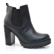 Ankle Boots De Salto Alto Moleca