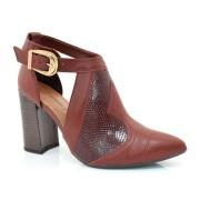 Sapato Feminino De Salto Bloco Dakota