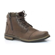 Imagem - Coturno Adventure Masculino Ped Shoes Detroit 0000353318036 CAFE TABACO-B (S)