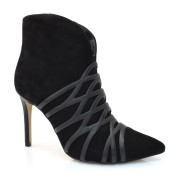 Imagem - Ankle Boots De Couro E Salto Alto Verofatto cód: 0000362218044