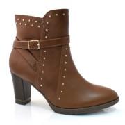 Ankle Boots De Salto Alto Comfortflex