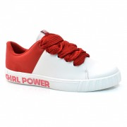 Tênis Feminino Moleca Girl Power