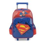 Mochila De Rodinha Luxcel Superman