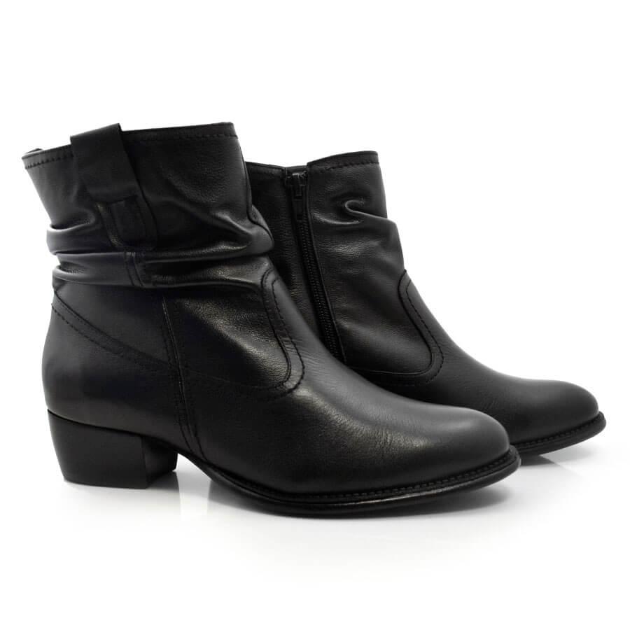 Imagem - Ankle Boots De Couro Suzzara cód: 0000140817032