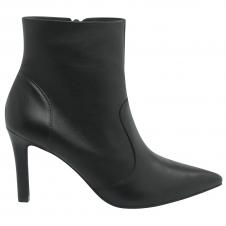 Imagem - Ankle Boots em Couro Bico Fino Usaflex cód: AD0608 Usa
