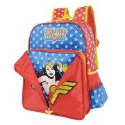Mochila Infantil Luxcel Wonder Woman