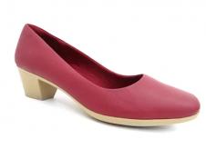 Imagem - Sapato de Salto Médio Vermelho Usaflex cód: AA2801 Usa