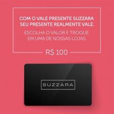 Imagem - Vale Presente R$100,00 - SUZZARA cód: 100VALE_SUZZARA