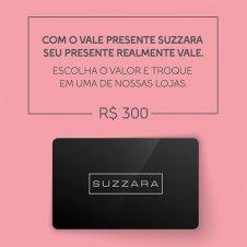 Imagem - Vale Presente R$300,00 - SUZZARA cód: 300VALE_SUZZARA