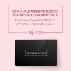 Imagem - Vale Presente R$400,00 - SUZZARA cód: 400VALE_SUZZARA