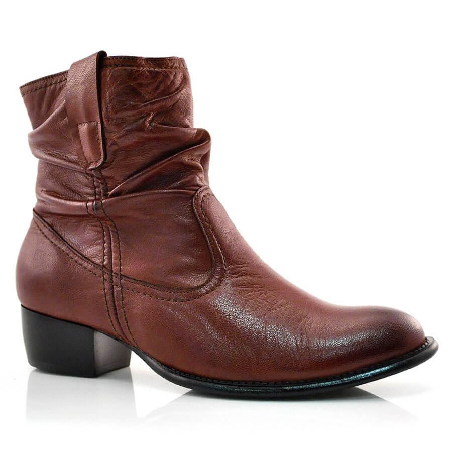 Ankle Boots De Couro Suzzara 2