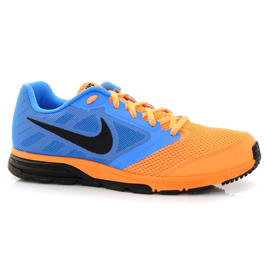 cee8e4a7cb Tênis Nike Zoom Fly LARANJA AZUL PRETO Com o Melhor Preço na Vizzent