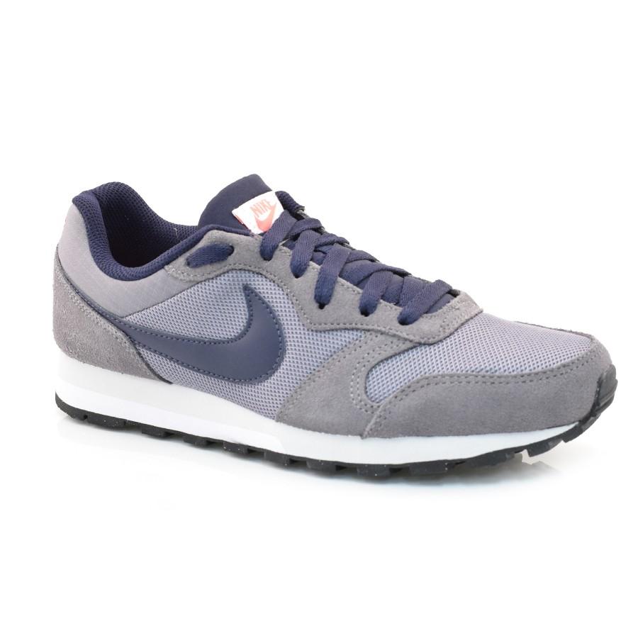 Tênis Masculino Nike Md Runner 2 CINZA AZUL Com o Melhor Preço na ... 6b382bd30b07b