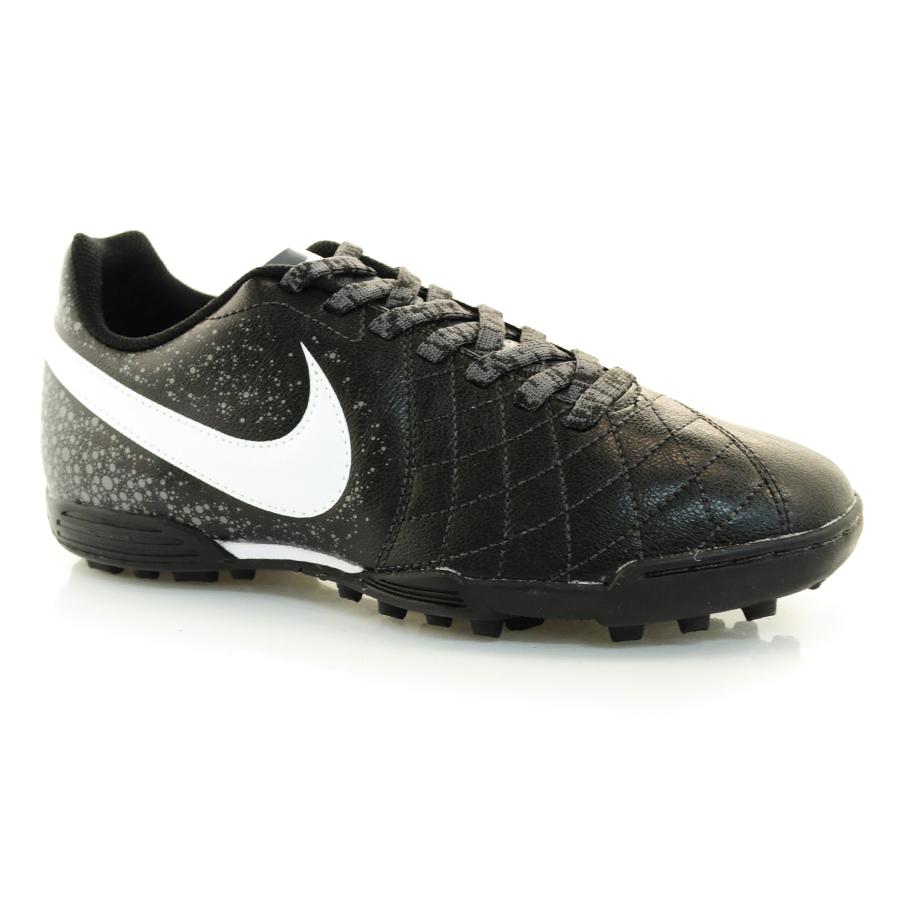 7fee434e89 Chuteira Society Nike Flare 2 PRETO BRANCO CHUMBO Com o Melhor Preço ...