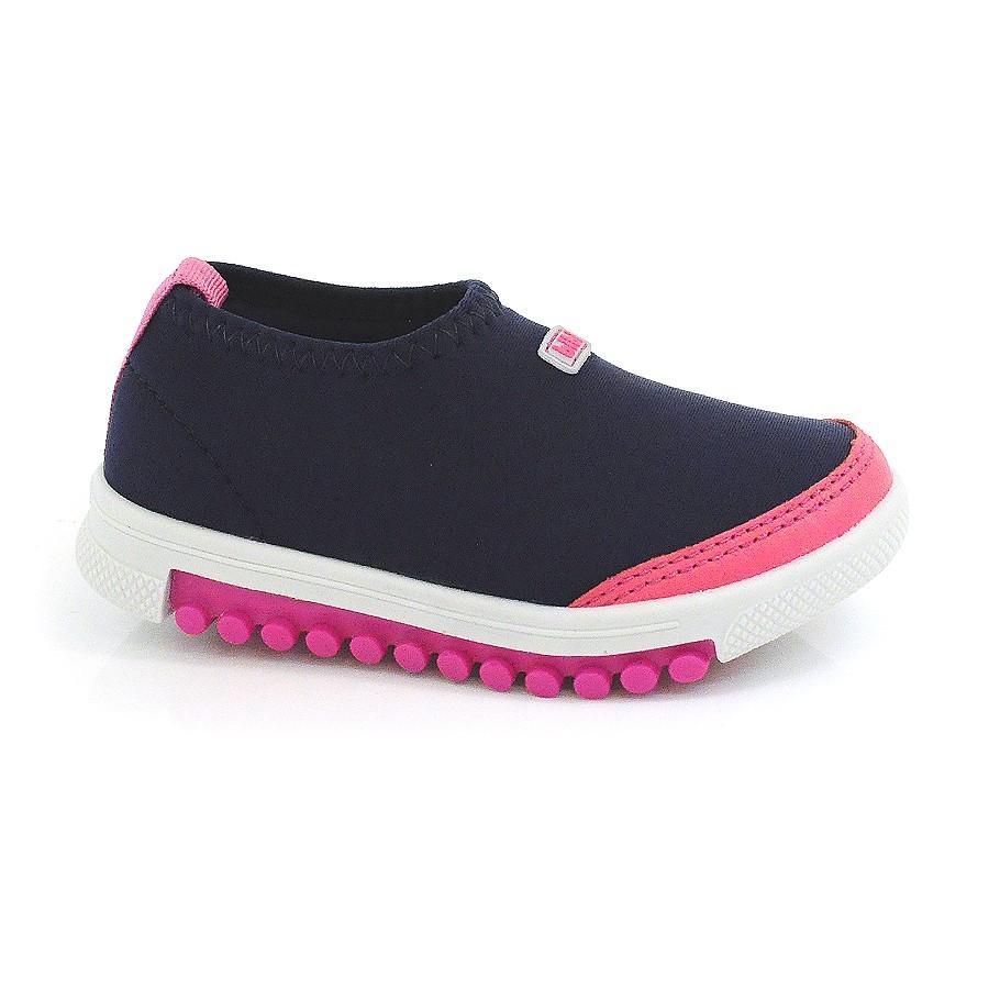 61041556b2 Tênis Infantil Feminino Roller Neon Bibi BLUE MAGENTA Com o Melhor ...