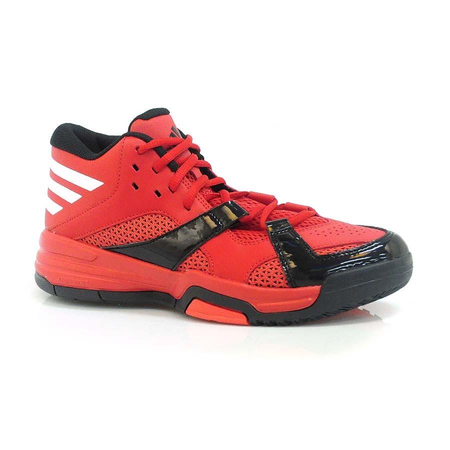 ea1262efa9 Tênis Vermelho Adidas First Step VERMELHO/PTO/BRANCO Com o Melhor ...