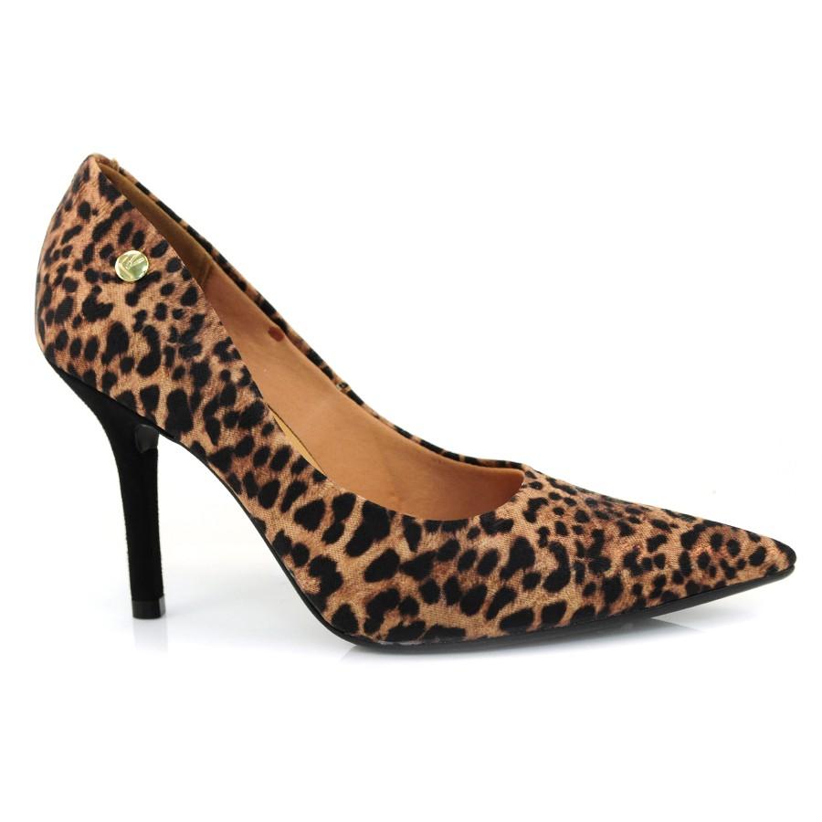 5b0f5afea2 Sapato Scarpin Feminino Vizzano TEC.ONCA MULTI CAMEL Com o Melhor ...