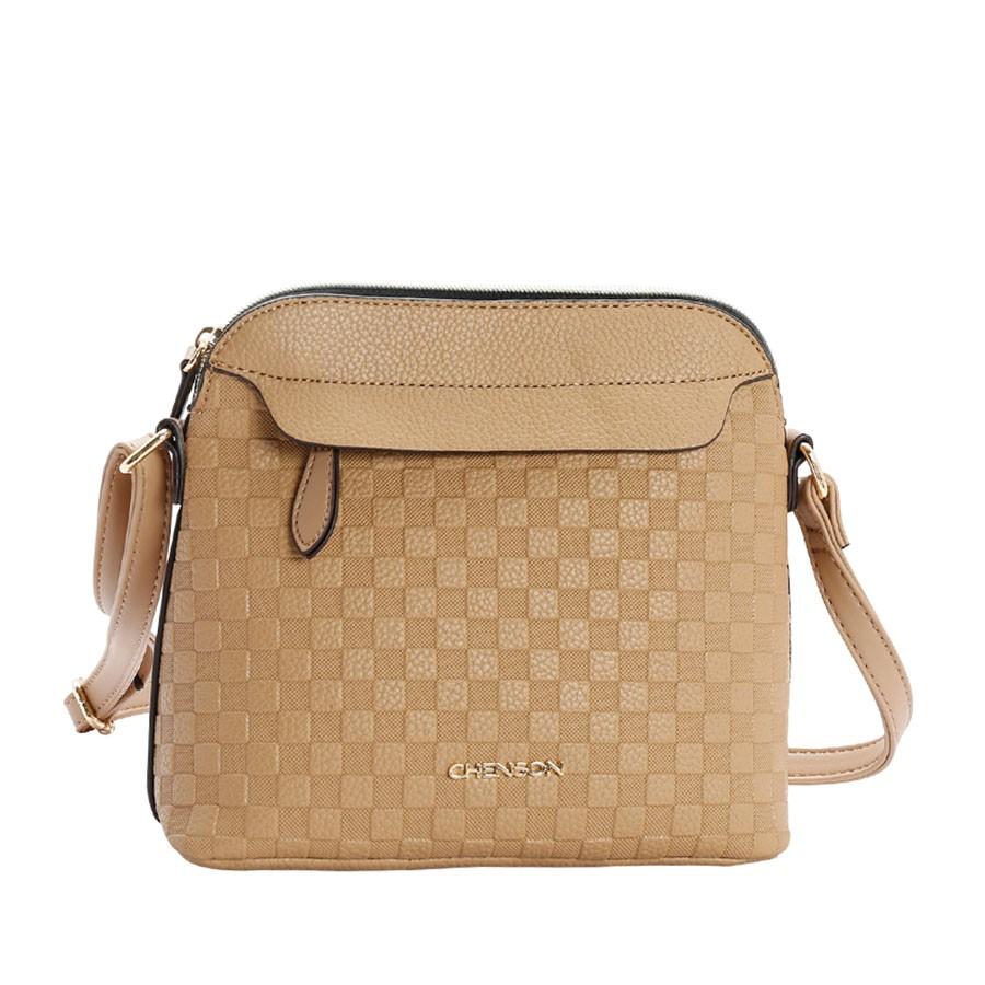 0a0146080 Bolsa Pequena Transversal Feminina Chenson CAQUI Com o Melhor Preço ...