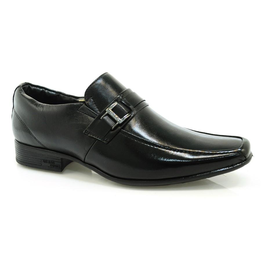 c560703cb Sapato Social Masculino De Couro Jota Pe PELICA CABRA PRETO Com o ...