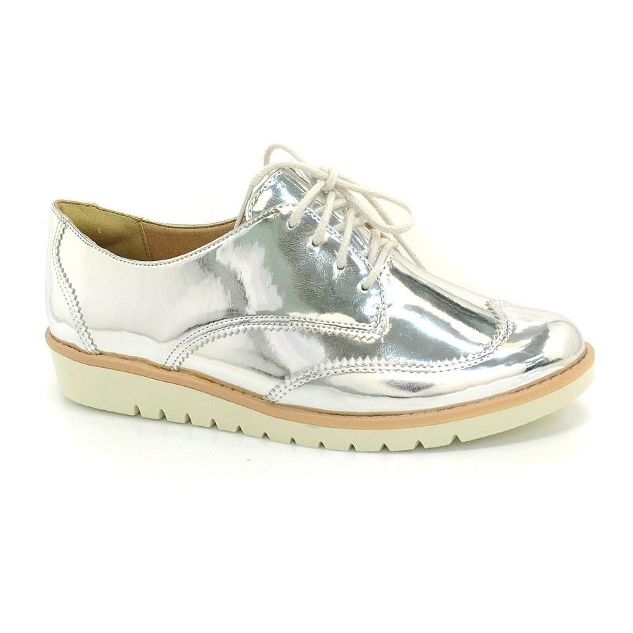 c060460967 Sapato Oxford Prata Ramarim PRATA 001 Com o Melhor Preço na Vizzent
