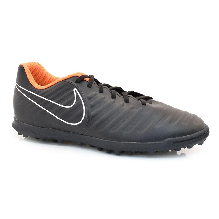 72c35e14b44ab Tênis Society Nike Tiempo PRETO/LARANJA Com o Melhor Preço na Vizzent