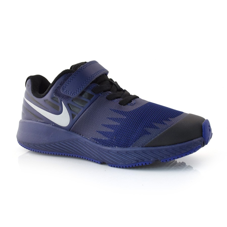 a748af658ee Tênis Nike Star Runner AZUL PRETO Com o Melhor Preço na Vizzent
