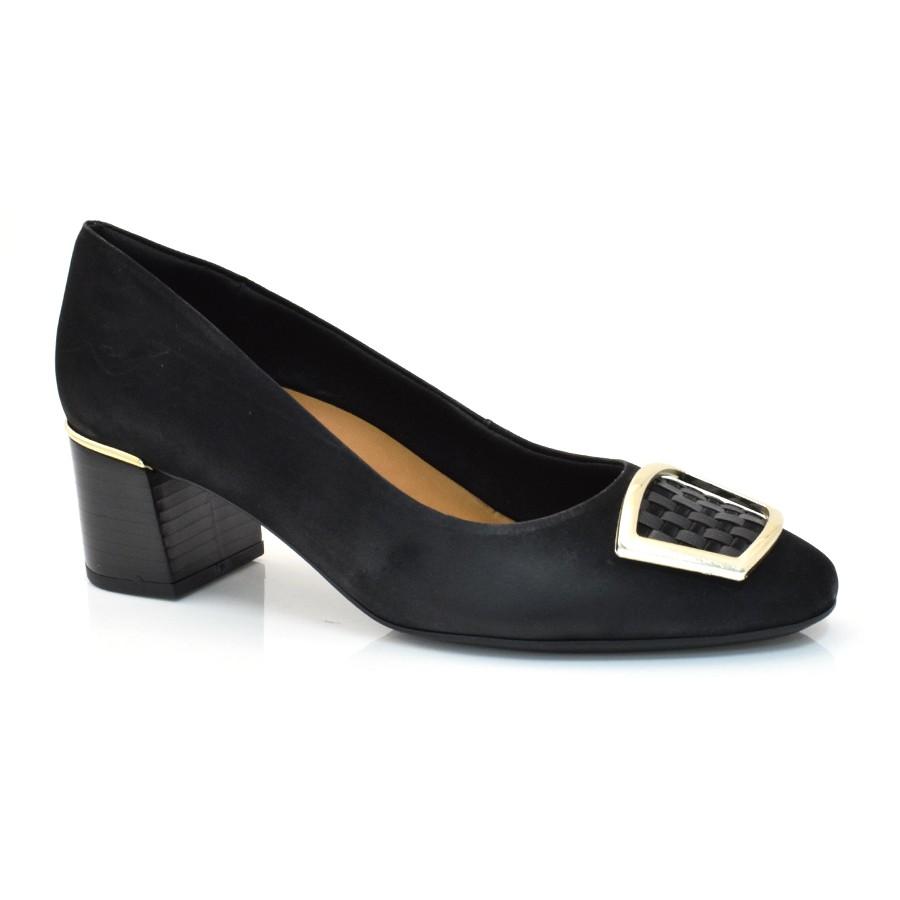 74f2089d1 Sapato Social Usaflex Dualcare VELOR/MEST PRETO (C) Com o Melhor ...