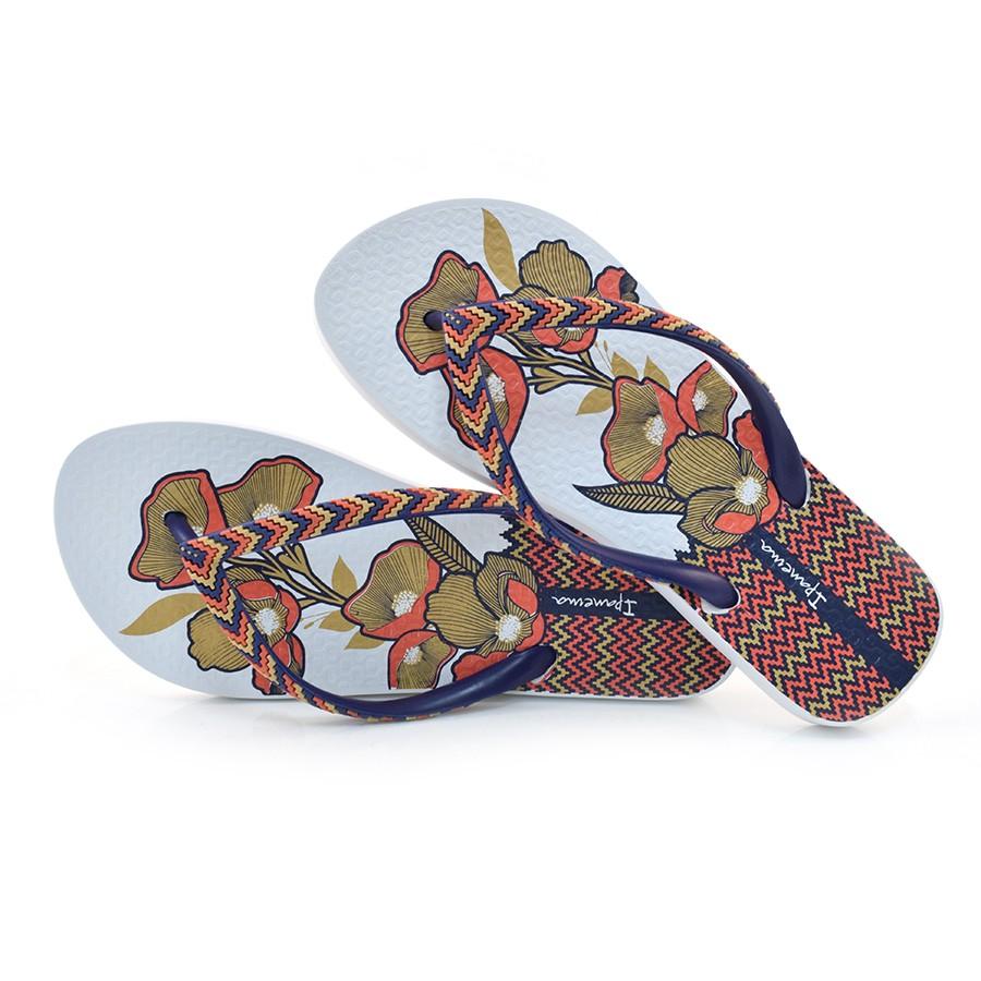 Chinelo Feminino Ipanema Fashion BRANCO AZUL 21192 Com o Melhor ... 50a0fb45b8457