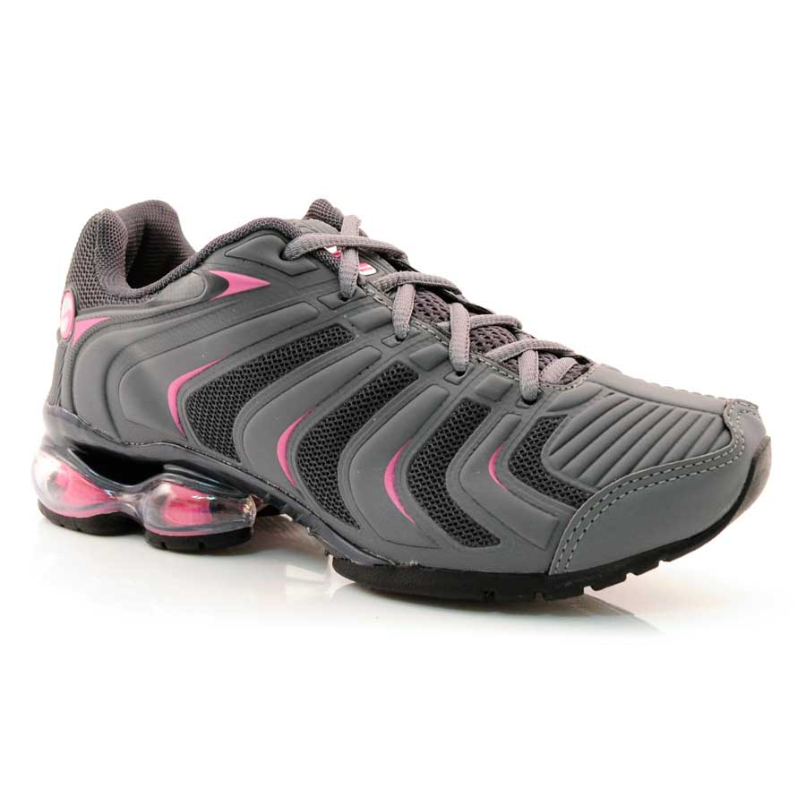 b70267b5ba Tênis Feminino Lindi Glee CHUMBO PRATA PINK Com o Melhor Preço na ...