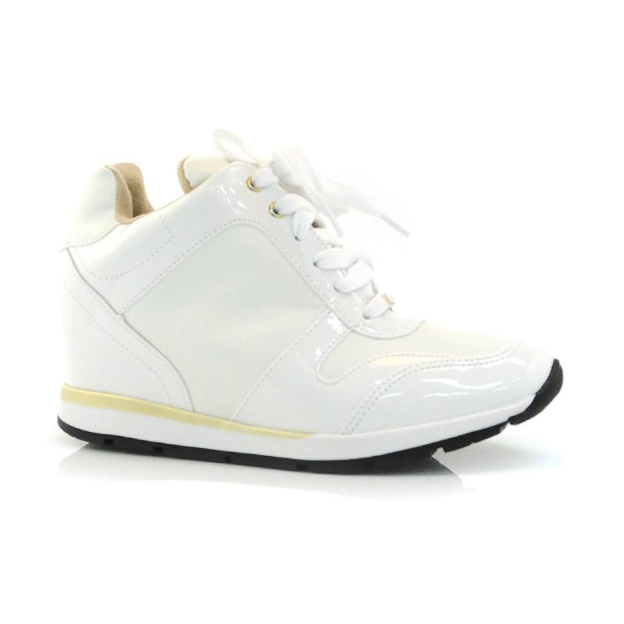 5fdeff28b1a Sneaker Vizzano Preto Ou Branco BRANCO 11514 Com o Melhor Preço na ...