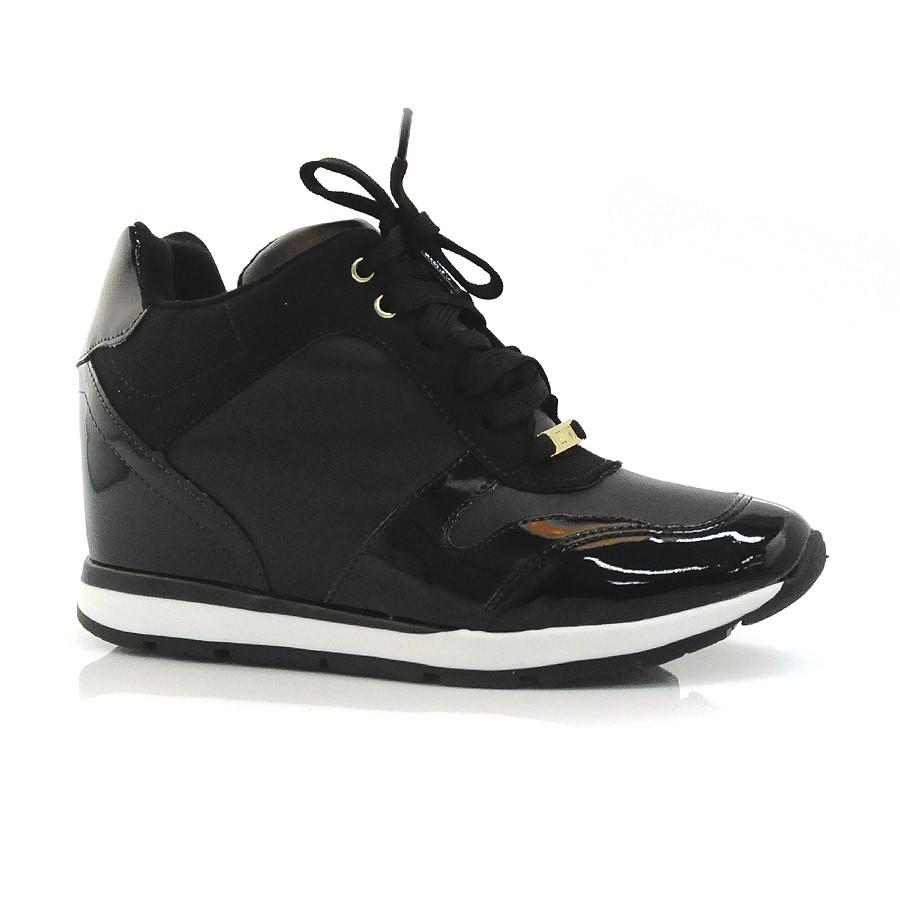 62fc38d1eb Sneaker Vizzano Preto Ou Branco PRETO 11515 Com o Melhor Preço na ...
