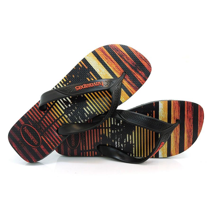 7b25c218fe3723 Chinelo Masculino Havaianas Surf CHUMBO PRETO Com o Melhor Preço na ...