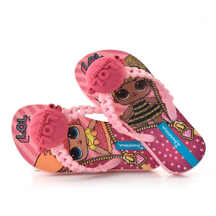 318de4699 Chinelo Infantil Lol Suprise Doll ROSA ROSA-20197 Com o Melhor Preço ...
