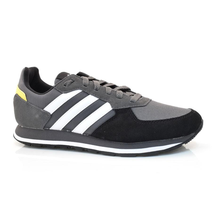 87293a275 Tênis Masculino Adidas 8k CINZA/BRANCO/PRETO Com o Melhor Preço na ...