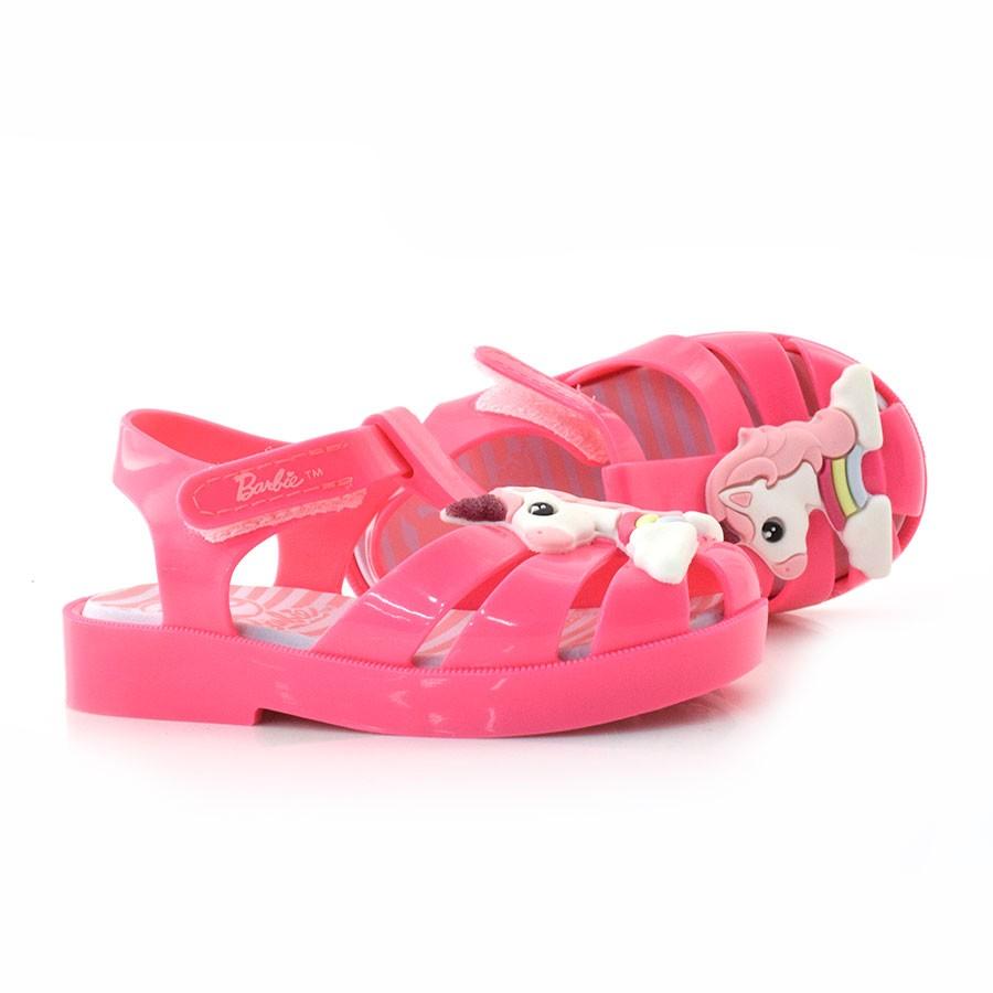 be982bbde Sandália Infantil Barbie Love Baby ROSA FLOUR RS -53489 Com o Melhor ...