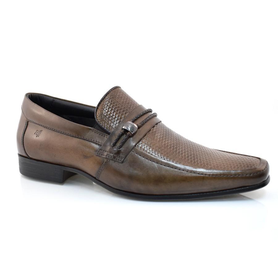 a81783365b Sapato Social De Couro Rafarillo R Ii CONHAQUE CONHAQUE Com o Melhor ...
