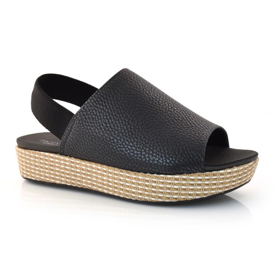 bd9b93f15 Sandália Flatform Feminina Modare PRETO 13951 Com o Melhor Preço na ...