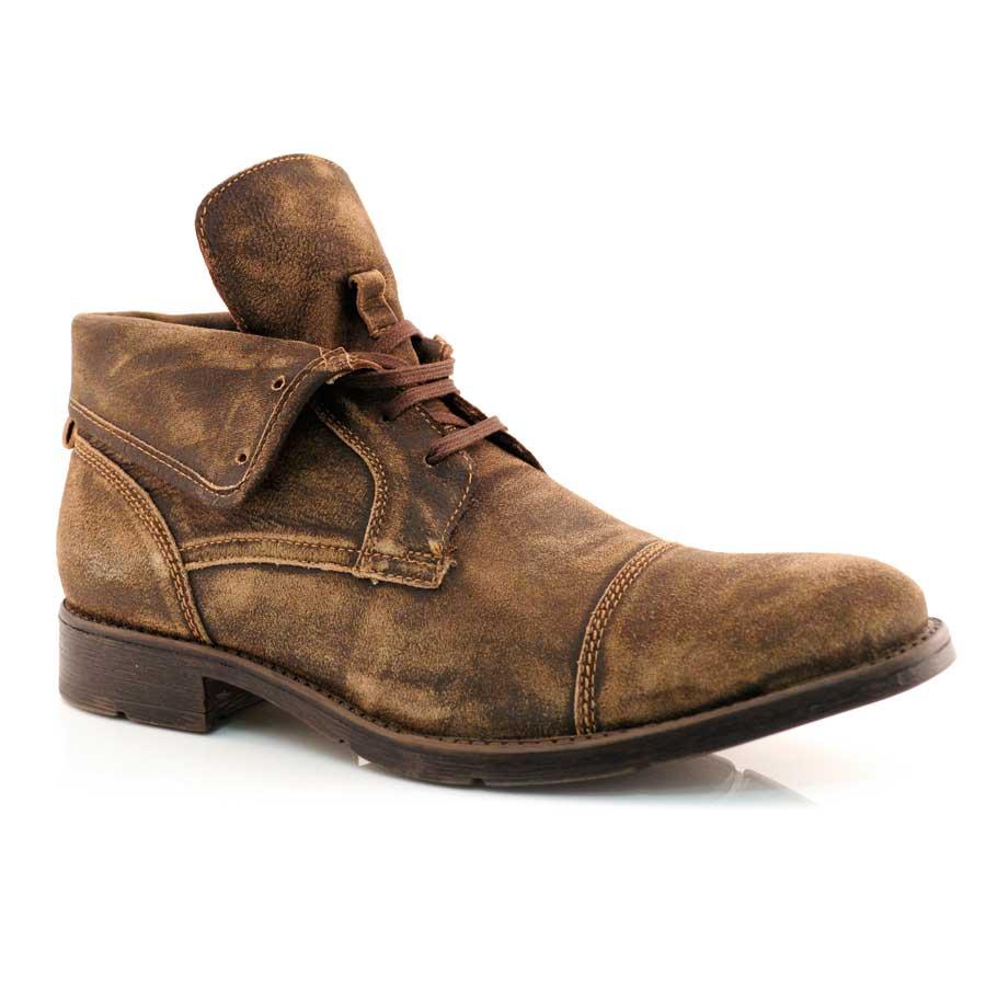 fb6db04012 Sapato Masculino Democrata Black Out TABACO Com o Melhor Preço na ...