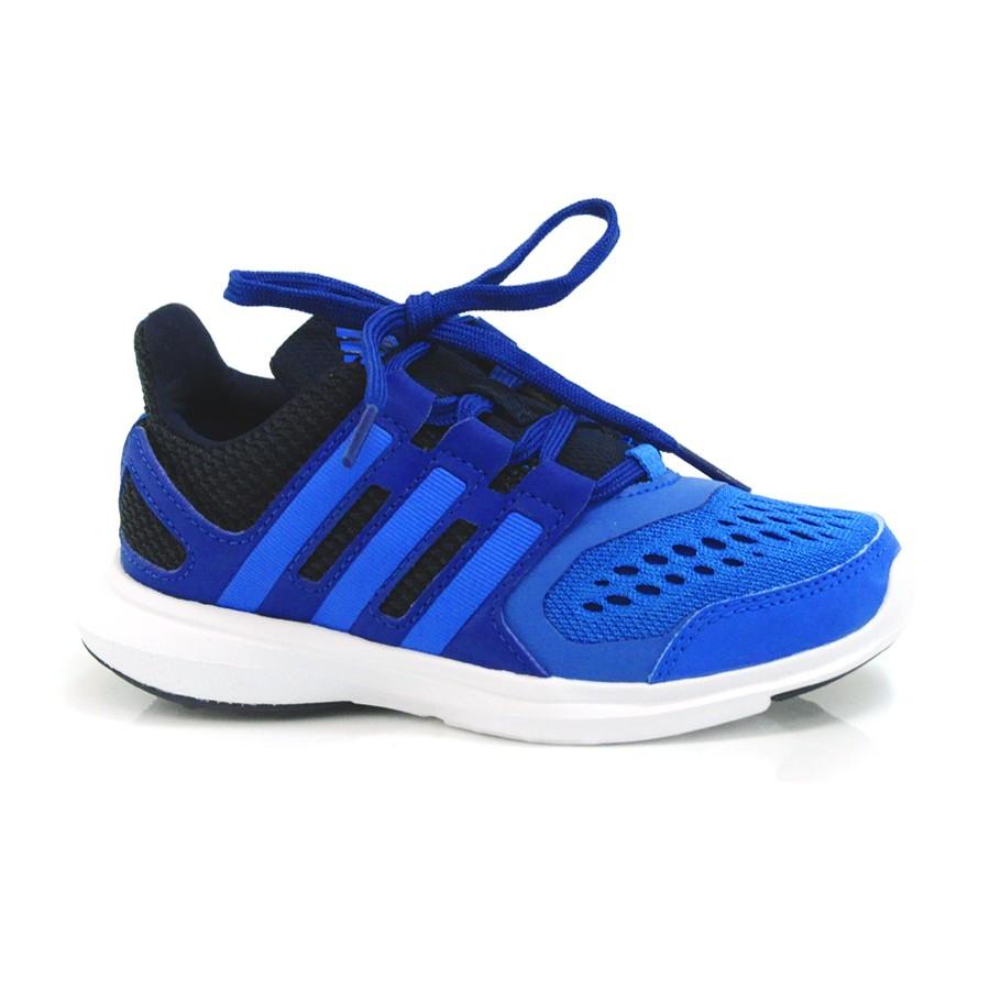 638ae00cd47 Tênis Infantil Adidas Hyperfast Azul ROYAL PRETO Com o Melhor Preço ...