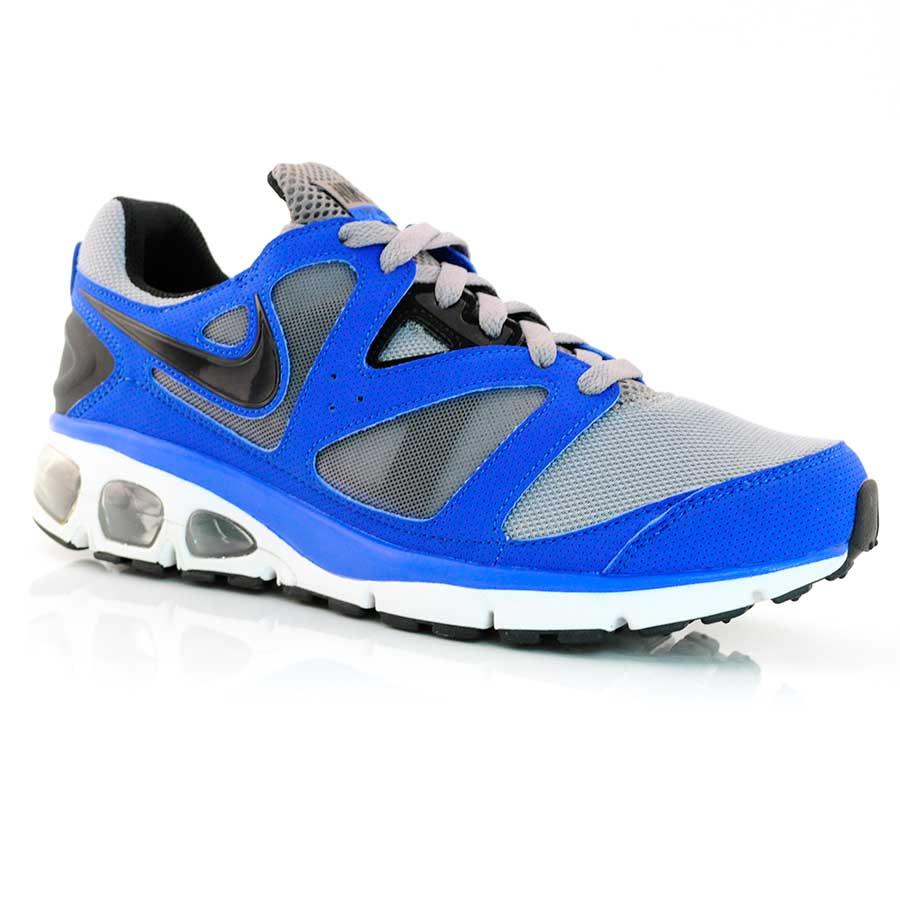 a2106a7ef Tênis Running Nike Air Max Turbulence + 18 ROYAL PRETO CINZA Com o ...