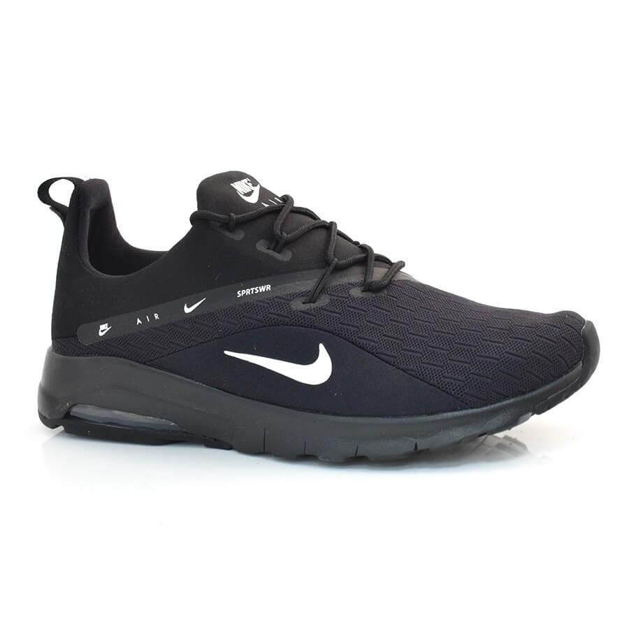 Tênis Masculino Nike Air Max Motion PRETO BRANCO Com o Melhor Preço ... f832ea41aaf01