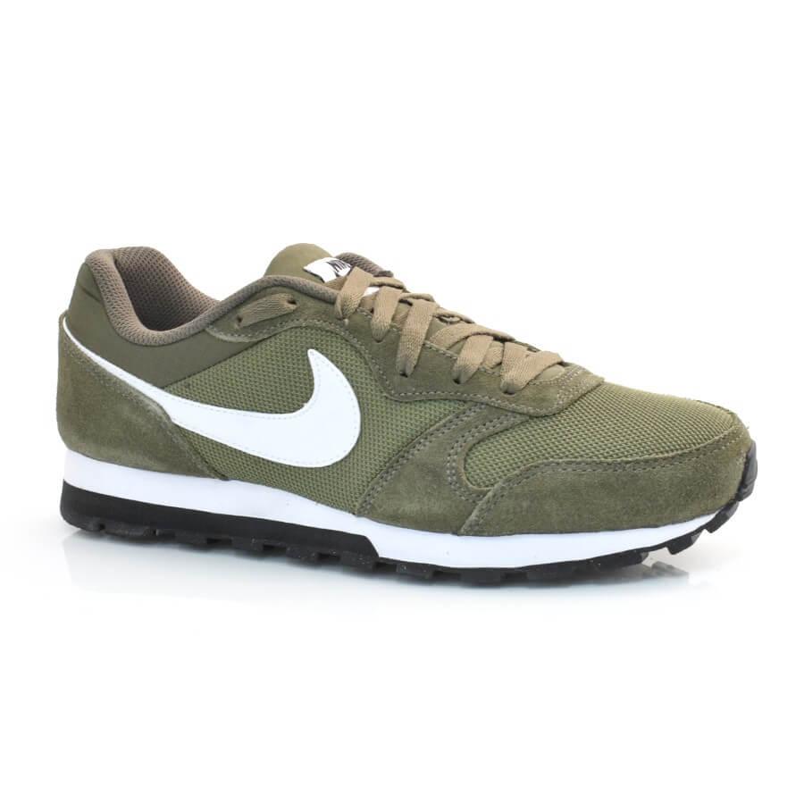 86a54308123 Tênis Nike Md Runner 2 VERDE OLIVA Com o Melhor Preço na Vizzent