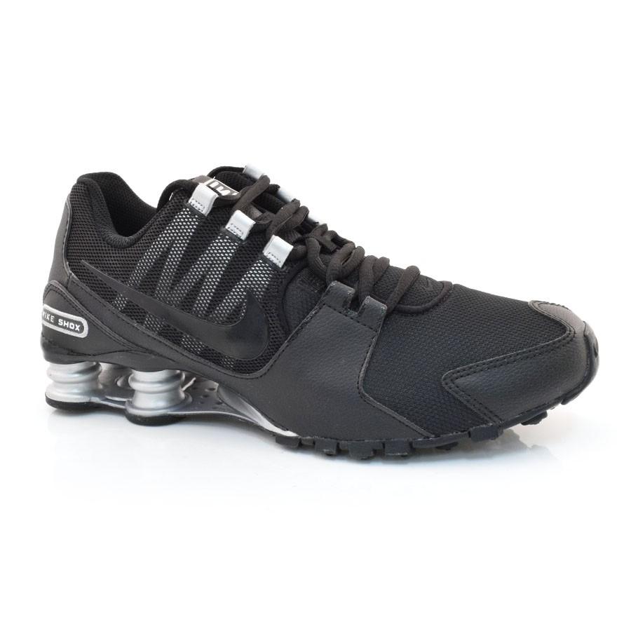 ebef71adc92 Tênis Masculino Nike Shox Avenue PRETO Com o Melhor Preço na Vizzent
