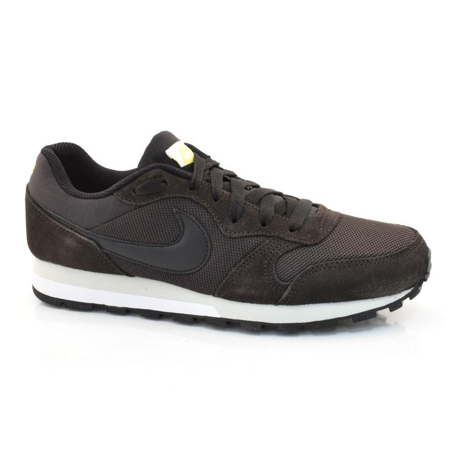 a15dc55d1f Tênis Masculino Nike Md Runner 2 MARROM PRETO Com o Melhor Preço na ...