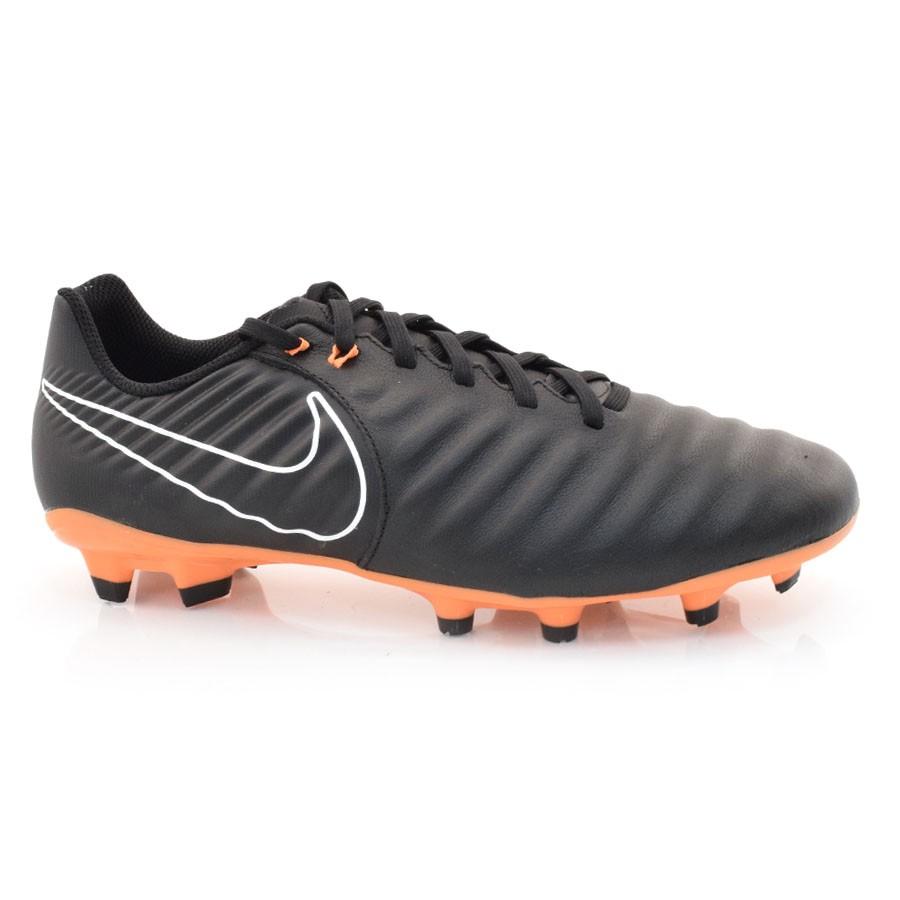 068c8915de08c Chuteira Nike Tiempo PRETO/LARANJA Com o Melhor Preço na Vizzent