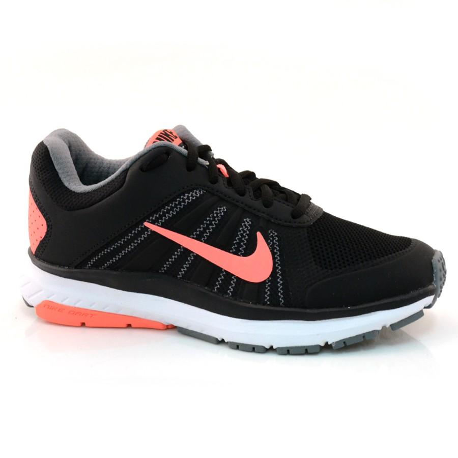 b18de329c Tênis Nike Feminino Dart 12- 34 Ao 39 PRETO SALMAO Com o Melhor ...