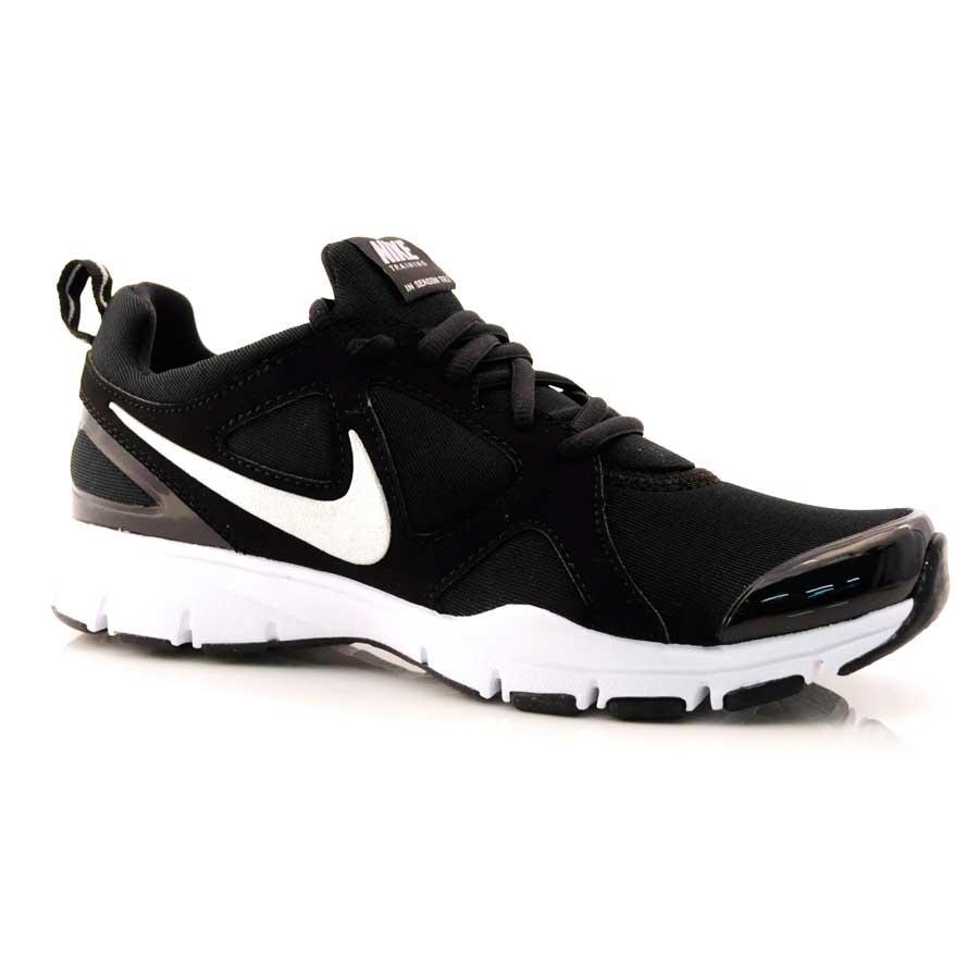 8695fbff59b Tênis Running Feminino Nike In Season Tr PRETO BRANCO Com o Melhor ...